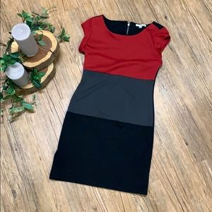 NBW color block dress